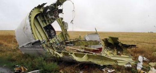 Место падения Боинга усеяно минами