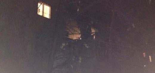 Взрыв в жилом доме Мелитополя