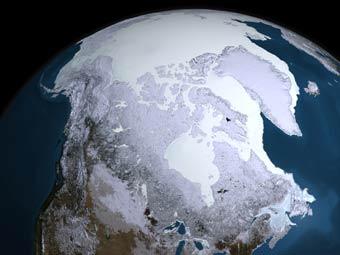Запасы углерода в Арктике