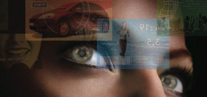 контактные линзы со встроенным OLED-дисплеем