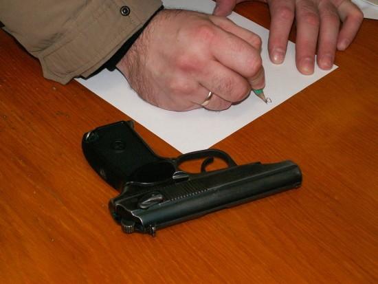 право носить оружие