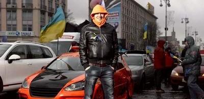 Активист Автомайдана Коба