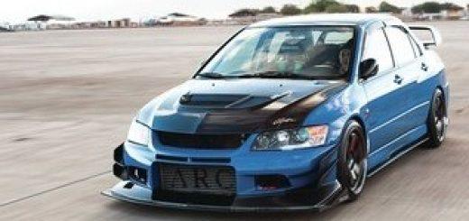 спортседан Mitsubishi Lancer Evolution X