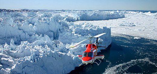 Один из крупнейших в мире ледников тает