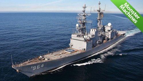 Военное судно USS Paul F. Foster (DD-964)