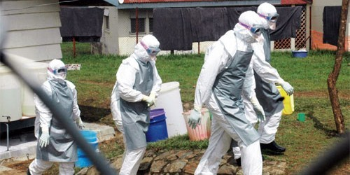 борьба с Эболой