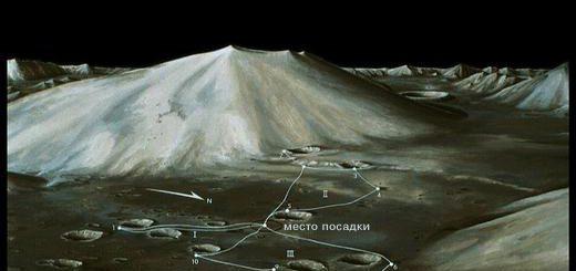 площадка посадки Аполлона-14