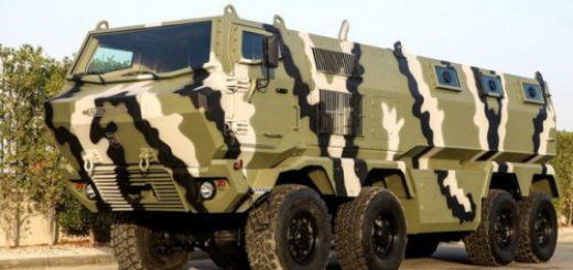 КрАЗ покажет в Абу-Даби новые бронемашины