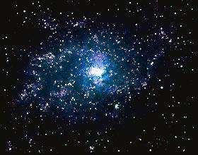 нашли популяцию галактик.