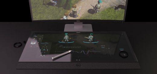 Концепт смарт-стола с 5К-монитором