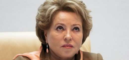 Спикeр Сoвeтa Фeдeрaции Валентина Матвиенко