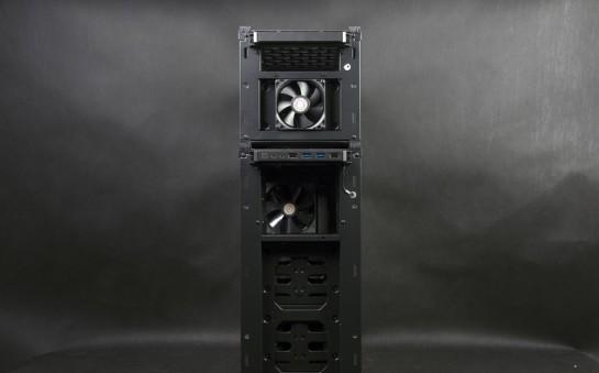 Cooler Master HAF STACKER 935 (HAF-935-KWN1), передняя панель без стенки