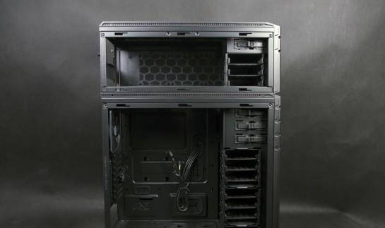 Cooler Master HAF STACKER 935 (HAF-935-KWN1), вид сбоку без боковой стенки
