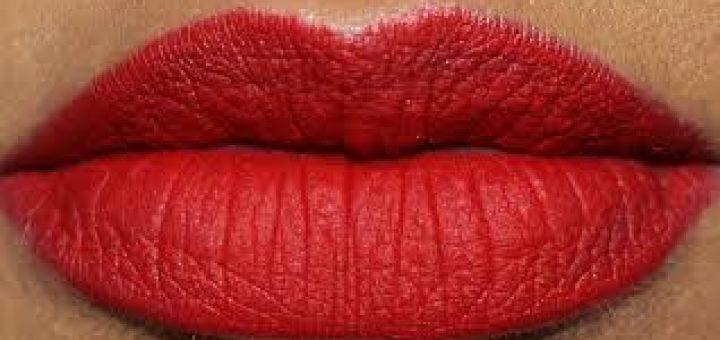 макияж губ с градиентом
