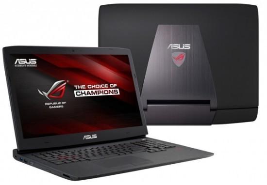Игровые ноутбуки ASUS ROG