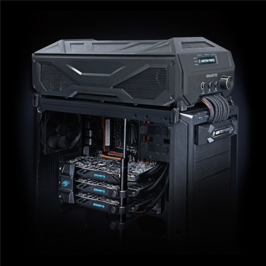 Система с тремя видеокартами NVIDIA GeForce GTX 980