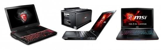 Игровые ноутбуки MSI