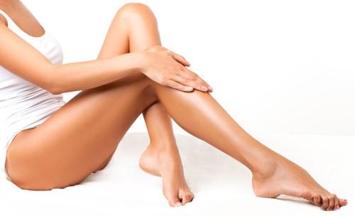 гладкие красивые ноги