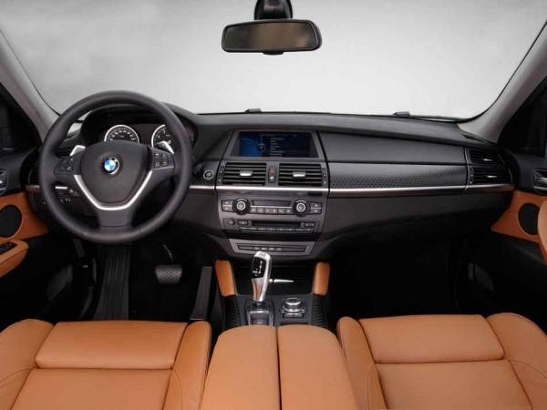 BMW X6 2013 фото салона