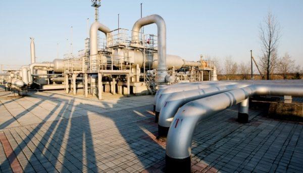 Запасы газа в хранилищах