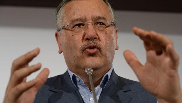 Лидер партии «Гражданская позиция» Анатолий Гриценко