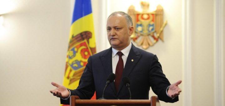 Президент Молдовы обязан распустить парламент