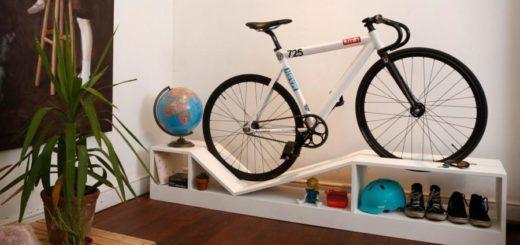 Хранение велосипеда в небольшой квартире